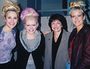 Renee Grant-Williams with the Dixie Chicks.